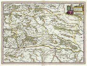 Karte des Herzogtums Steiermark