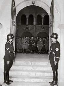 Feierlichkeit im Dom von Quedlinburg