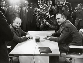 Bruno Kreisky und Karl Schleinzer