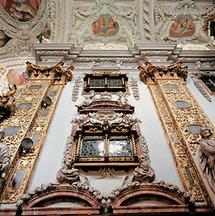 Inneres der Stiftskirche in Schlierbach