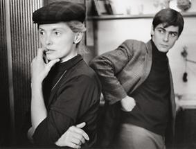 Erni Mangold und Walter Schmögner