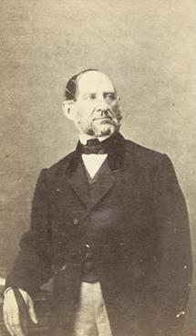 Portrait Anton Ritter von Schmerling