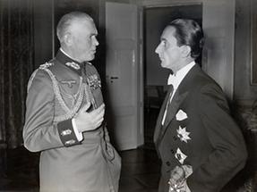 Werner von Blomberg und  Dr. Guido Schmidt