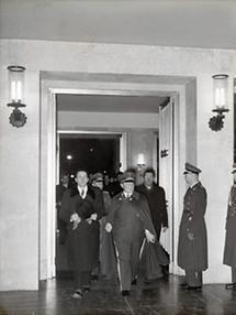 Hermann Göring und Guido Schmidt