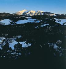 Der Schneeberg in den niederösterreichischen Alpen