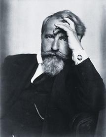 Der österreichische Schriftsteller Arthur Schnitzler (1)