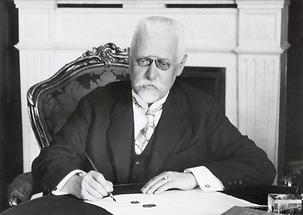 Bundeskanzler Johann Schober