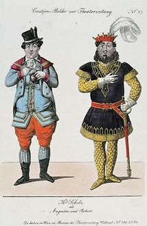 Wenzel Scholz als Augustin