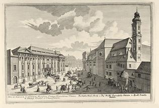 Schottenkirche und Palais Harrach