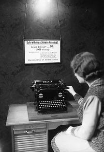 Schreibmaschinenautomat
