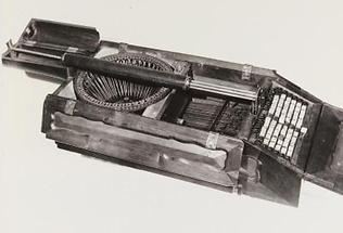 Schreibmaschinen-Modell von Peter Mitterhofer