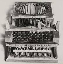 Schreibmaschine von Peter Mitterhofer