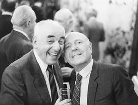 Gerd Bacher und Otto Schulmeister