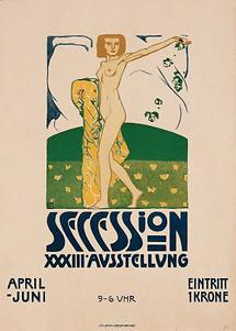Plakat: 33. Ausstellung der Secession