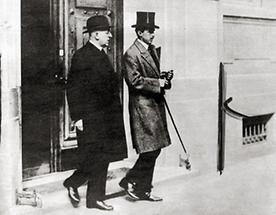 Bundeskanzler Seipel auf dem Weg nach Genf