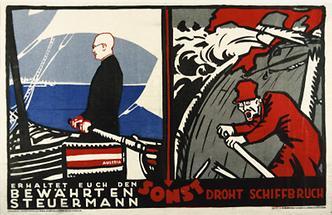 Plakat der Christlich-Sozialen Partei zur Nationalratswahl
