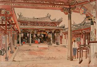 The Tjintak Kjong Temple