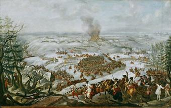 Die Schlacht von Maxen, 1759