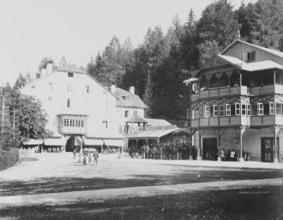 Hotel Weitlanbrunn in Sillian, © IMAGNO/Austrian Archives