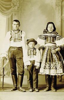 Slowakische Familie