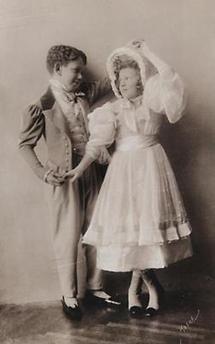 Erzherzog Albrecht mit Erzherzogin Sophie