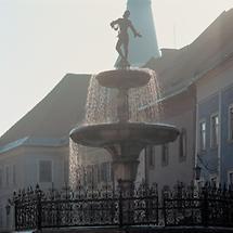 Florianibrunnen (1676) in St. Veit an der Glan