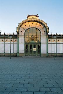 Stadtbahn-Station auf dem Wiener Karlsplatz (2)