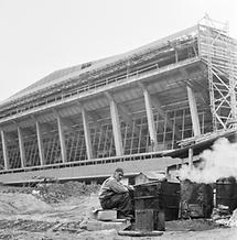 Bau der Wiener Stadthalle (1)