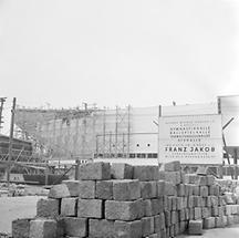Bau der Wiener Stadthalle (2)