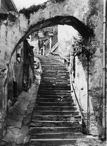 Alte Treppe in Stein an der Donau