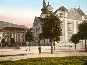 Das Rathaus in Stein