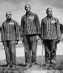 Häftlinge des ersten KZ-Transports nach Dachau