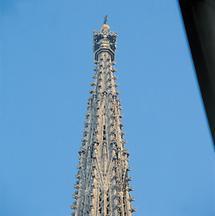 Turm des Stephansdoms in Wien (1)