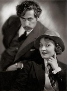Josef von Sternberg und Marlene Dietrich