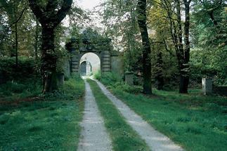 Kastanienallee im Park von Schloss Stetteldorf