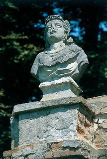 Büste im Schlosspark Stetteldorf