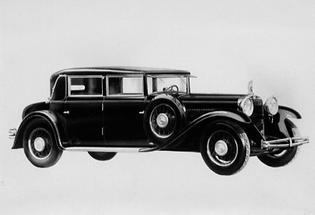 Modell der Automobilfabrik Steyr