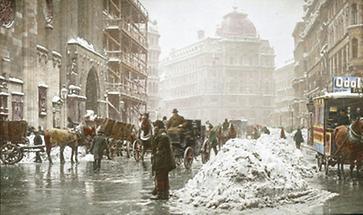Der Winterliche Stephansplatz