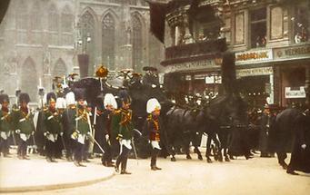 Die Trauerfeier für Kaiser Franz Joseph I