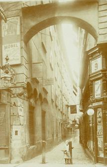 Die Rotgasse in Wien I.