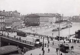 Die Marienbrücke in Wien