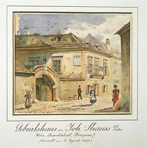 Geburtshaus von Johann Strauß Vater