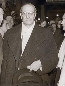 Filmkomponist Oscar Staus