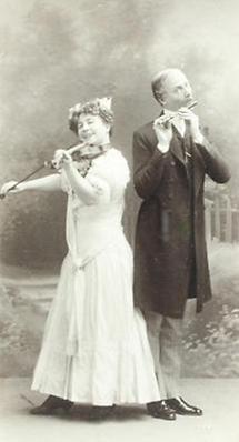 Mizzi Zwerenz und Arthur Guttmann