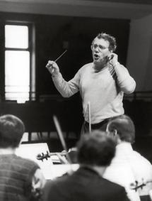 Rudolf Streicher als Dirigent