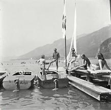 Elektroboote am Wolfgangsee