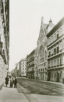 Kaiser Franz Joseph-Huldigungs-Tempel in Wien