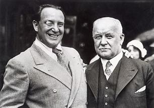 Richard Tauber und Franz Lehar