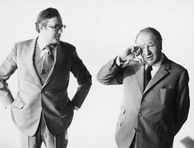 Josef Taus und Bruno Kreisky (1)