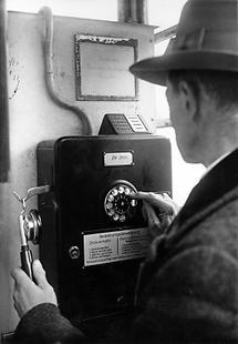 Telegrammversand per Telefon